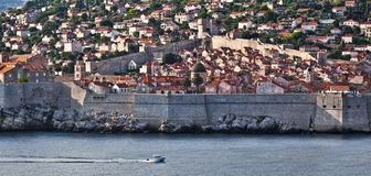 Dubrovnik old city view - HDR image process Stock Photography
