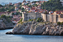 Dubrovnik old city view - HDR image process Stock Image