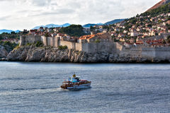 Dubrovnik old city view - HDR image process Royalty Free Stock Photography