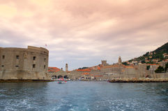 Dubrovnik Old city view Stock Images