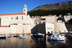 Dubrovnik old port Stock Photos