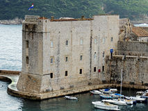 Dubrovnik old port Stock Photography