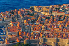 Dubrovnik old town Stock Images