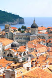 Dubrovnik old town stock photography
