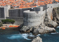 Dubrovnik. The old town of Dubrovnik Stock Photos