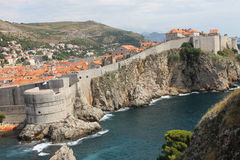 Dubrovnik. The old town of Dubrovnik Stock Images