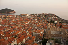 Dubrovnik old town. The old town of Dubrovnik Royalty Free Stock Photos