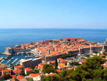 Dubrovnik - Old Town Royalty Free Stock Photos