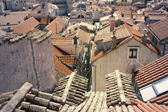 Dubrovnik old town Royalty Free Stock Photography