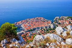 Dubrovnik Old Town in Croatia Stock Photo
