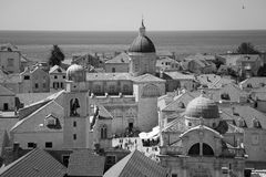Dubrovnik Old Town Stock Image