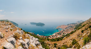 Dubrovnik Old Town, Croatia. Inside the city, views of streets a Stock Photography