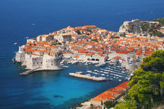 Dubrovnik. Old town, Dalmatia Croatia royalty free stock photos