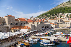 Dubrovnik. Old town and fortress Royalty Free Stock Photos