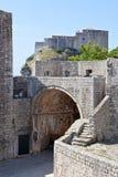 Dubrovnik old town - fortress Lovrijenac Stock Image