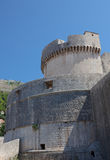 Dubrovnik old town - fortress Minceta Stock Photos