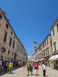 Dubrovnik old town royalty free stock image