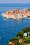 Dubrovnik old town pier Royalty Free Stock Photos