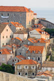 Dubrovnik Old Town roofs Stock Photo