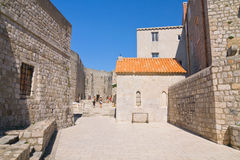 Dubrovnik Old Town roofs Royalty Free Stock Photos