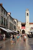 Dubrovnik old town - Stradun Royalty Free Stock Photos