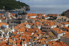 Dubrovnik old town. View of Dubrovnik old town Stock Photography