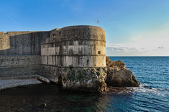Dubrovnik Old Town Walls Stock Photography