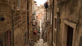 Dubrovnik oldtown w Chorwacja fotografia stock