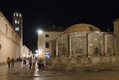 Dubrovnik, Onofrio's fountain Royalty Free Stock Photo