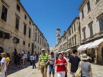 Dubrovnik oude stad Royalty-vrije Stock Foto's