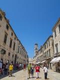 Dubrovnik oude stad Royalty-vrije Stock Afbeelding
