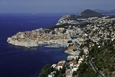 Dubrovnik panorama Zdjęcia Stock
