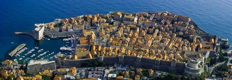 Dubrovnik-Panorama Lizenzfreie Stockfotografie