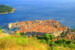 Dubrovnik-Panorama Lizenzfreies Stockbild