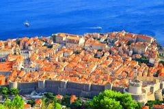 Dubrovnik panorama obrazy royalty free