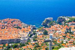 Dubrovnik panorama Royalty Free Stock Images