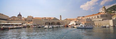 dubrovnik panorama- sjösidasikt Royaltyfria Bilder