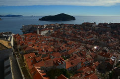 Dubrovnik panoramic view Royalty Free Stock Image