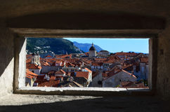 Dubrovnik panoramic view Stock Images