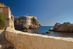 Dubrovnik - pearl of the Adriatic Stock Image