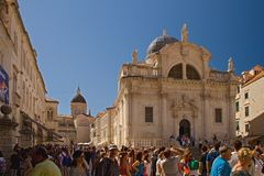 Dubrovnik - pearl of the Adriatic royalty free stock image
