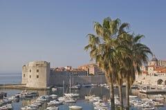 Dubrovnik - perla del Adriático croata Imagen de archivo