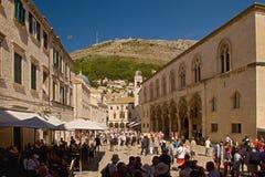 Dubrovnik - Perle der Adria lizenzfreies stockbild