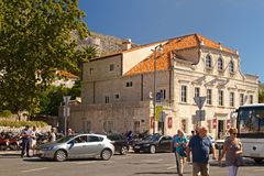 Dubrovnik - Perle der Adria lizenzfreie stockfotos