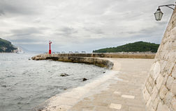Dubrovnik. Pier Royalty Free Stock Photography