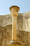Dubrovnik pillar Stock Photo