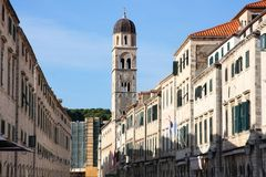 Dubrovnik, Plaza Stradun, Croatia Stock Photos