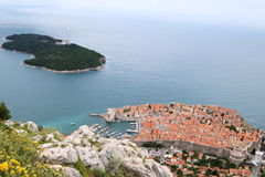 Dubrovnik 6. Popular tourist destination on the Adriatic Sea, the old town of Dubrovnik, Croatia Royalty Free Stock Images