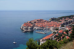 Dubrovnik por día Fotos de archivo