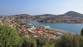 Dubrovnik port royaltyfria foton